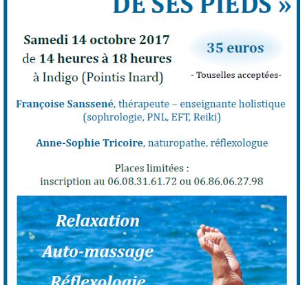 Atelier Prendre soin de ses pieds - Saint Gaudens - Indigo